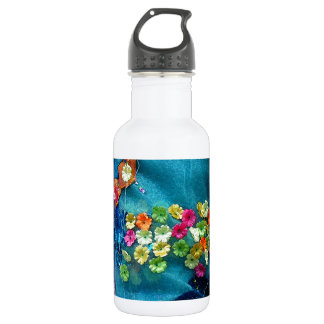 Bolts of fabric water bottle