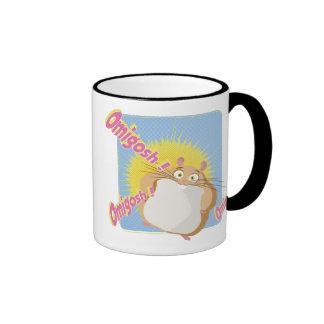 Bolt's Rhino Disney Ringer Coffee Mug