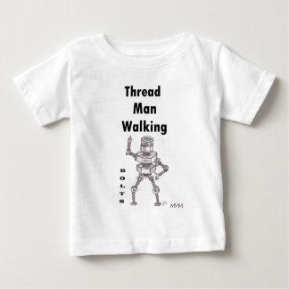 Bolts - Thread Man Walking Baby T-Shirt