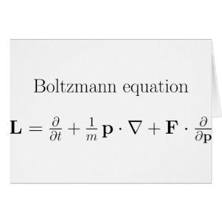 Boltzmann label.png tarjeta de felicitación