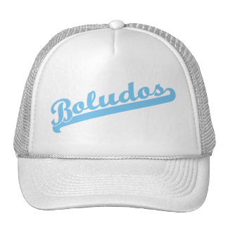 boludos trucker hat