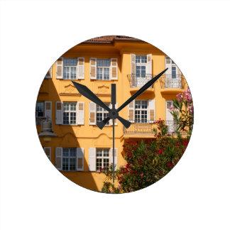 Bolzano Old Town Round Wallclocks