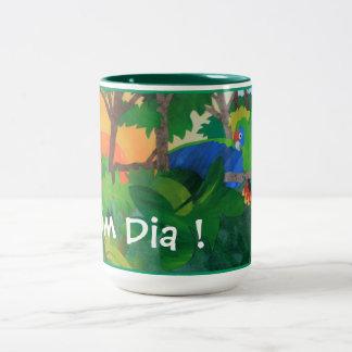 Bom Dia ! Art Coffee Mug