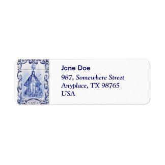 Bom Jesus da Pedra Custom Return Address Label