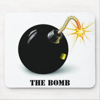 bom, la bomba alfombrilla de ratones
