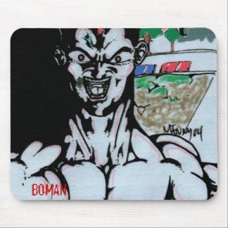 Boman2, BOMAN Mouse Pad