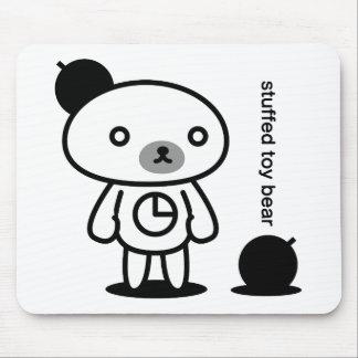 Bomb bear 02 mouse pad