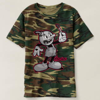 Bomb Boy Graffiti Character Strange Attraction T-shirt