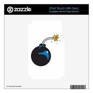bomb cartoon iPod touch 4G skin