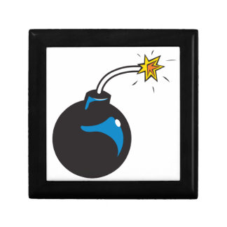 bomb cartoon jewelry box
