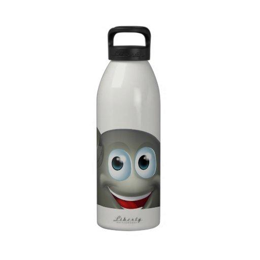 Bomb character water bottles
