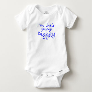 Bomb Diggity Baby Onesie