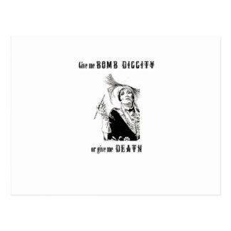 Bomb diggity or Death Postcard