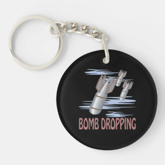 Bomb Dropping Keychain