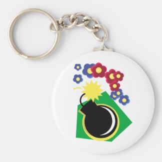 Bomb Keychain