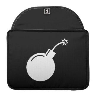 Bomb Pictogram MacBook Pro Sleeve
