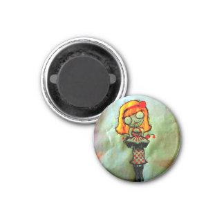 bomb pie 1 inch round magnet