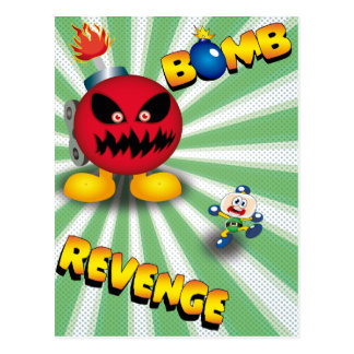 Bomb Revenge Postcard