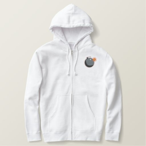 Bomb Squad Embroidered Hoodie