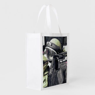Bomb Squad Uniform Grocery Bag