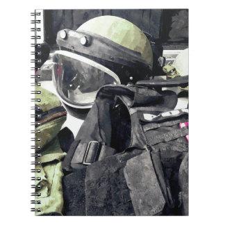 Bomb Squad Uniform Notebook