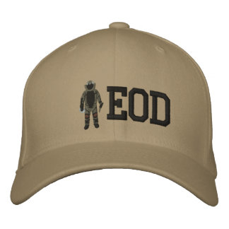 Bomb Suit Embroidered Baseball Hat