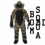 Bomb Suit Embroidered Hoodies