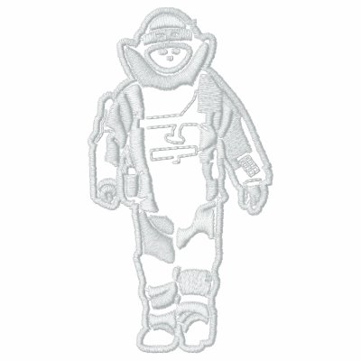 Bomb Suit Embroidered Shirt