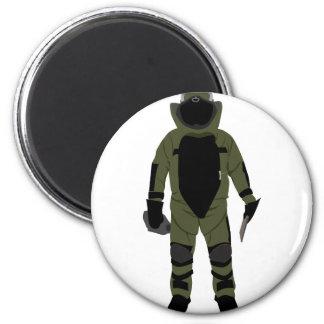 Bomb Suit Magnet