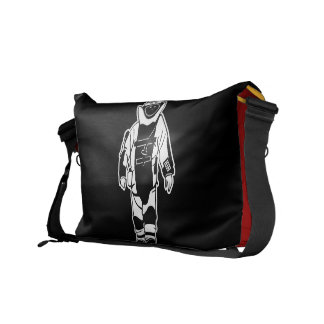 Bomb Suit Messenger Bag