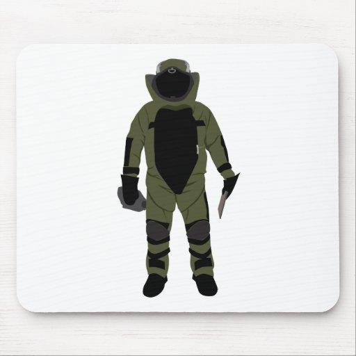 Bomb Suit Mouse Pad