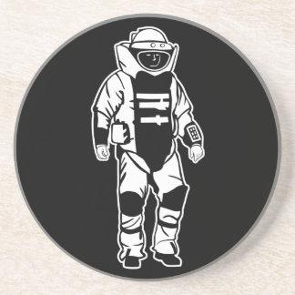 Bomb Suit Sandstone Coaster