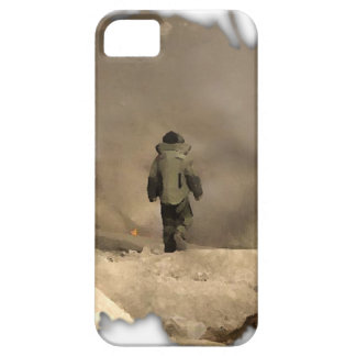 Bomb Suit walking iPhone SE/5/5s Case