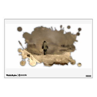 Bomb Suit walking Wall Decal