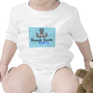 bomb tech baby blue rompers