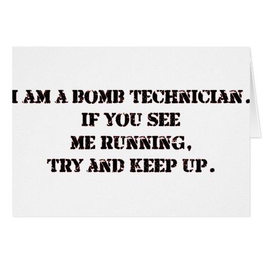bomb tech card