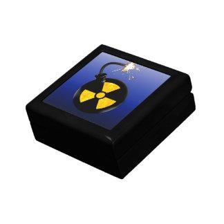 Bomba atómica caja de joyas