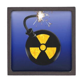 Bomba atómica caja de joyas de calidad