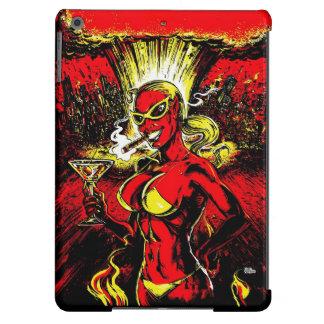 Bomba atómica del chica del diablo carcasa para iPad air