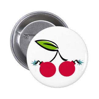 Bomba de cereza pin redondo 5 cm