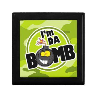 ¡Bomba de DA camo verde claro camuflaje Caja De Joyas