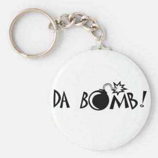 ¡Bomba de DA! Llavero Redondo Tipo Pin