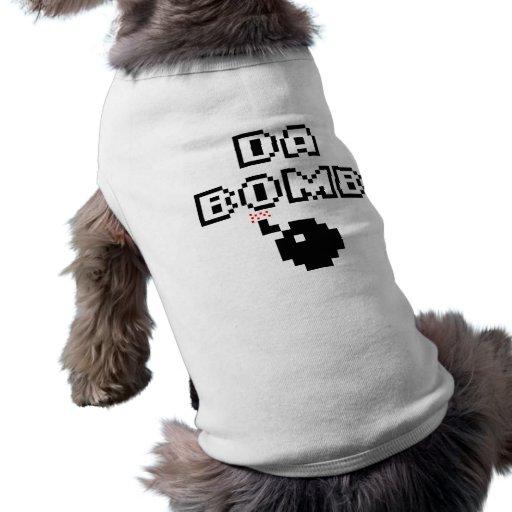 Bomba de DA Camisetas De Perrito