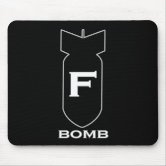 Bomba de F Mousepads
