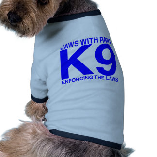 Bomba de fuego de la policía K9 Camiseta Con Mangas Para Perro