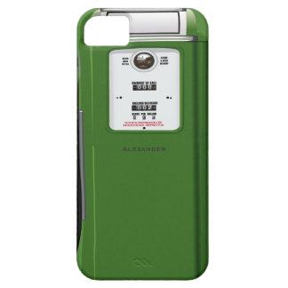 Bomba de gasolina del vintage funda para iPhone 5 barely there