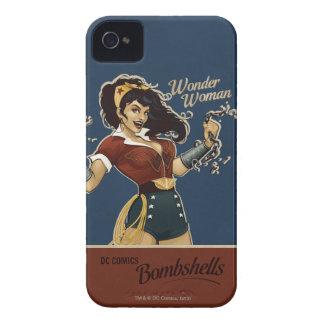 Bomba de la Mujer Maravilla Carcasa Para iPhone 4