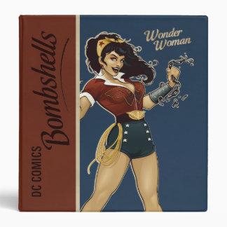 "Bomba de la Mujer Maravilla Carpeta 1 1/2"""