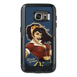 Bomba de la Mujer Maravilla Funda Otterbox Para Samsung Galaxy S7