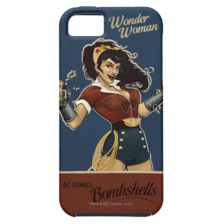 Bomba de la Mujer Maravilla Funda Para iPhone SE/5/5s
